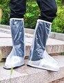 Macho e fêmea fosco PVC cilindro tubo de sapato à prova de chuva cobrir sapatos à prova de chuva cobrir botas dos homens Sapato Cobre À Prova D' Água