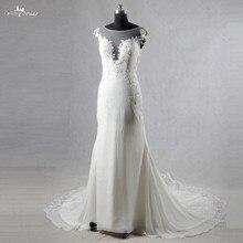 yiaibridal RSW1080 Beach Wedding Dress Ivory Chiffon