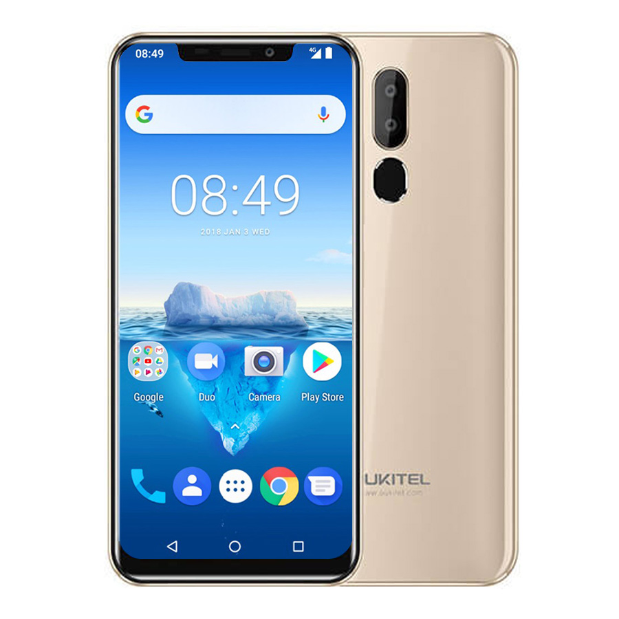 "Oukitel C12 Pro 4g 6.18""19:9 Android 8.1 Face Id 3300mah Mt6739 Quad Core 2gb Ram 16gb Rom 8mp+5mp Fingerprint Mobile Phone #4"