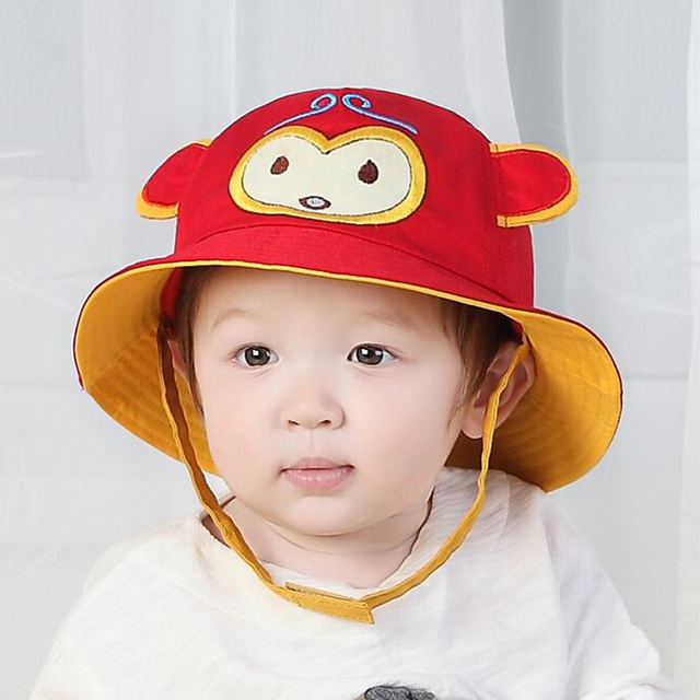 0fb7e51e Cute Baby Sun Hat Girls Hats Cap Newborn Photography Props Boys Hats  Children Cap Kids Beach