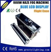 Кейс упаковка 900 Вт туман дымка машина Китай сценического оборудования туман жидкости на водной основе, высокий эффект Hazer дым машина 900 Вт