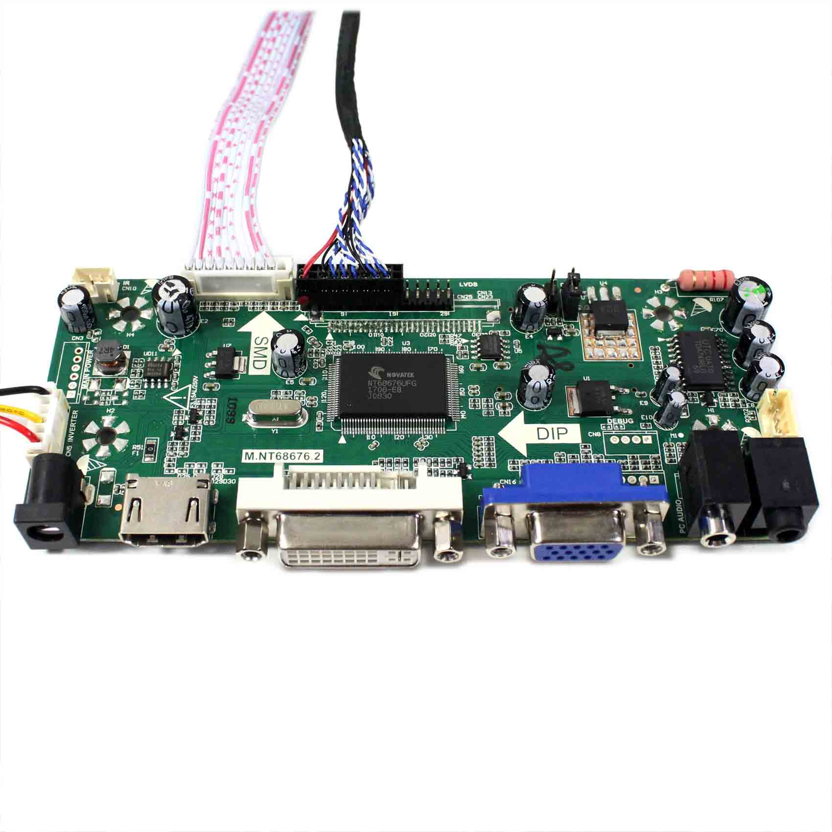 Image 4 - HDMI VGA DVI LCD controller board with 14.9inch 1280x390 LTA149B780F LCD screen-in Replacement Parts & Accessories from Consumer Electronics
