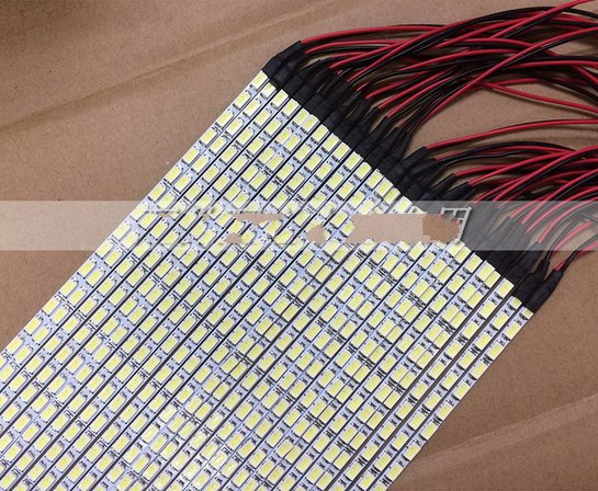 10 Sets X Dimable LED Backlight Lamps Update Kit Adjustable LED Board +2 Strips For Monitor Desktop