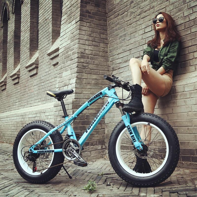26 pouces 7/21/27 vitesse Cross-country VTT cadre en aluminium Snow Beach 4.0 surdimensionné vélo pneu Dirt vélos pour hommes et femmes
