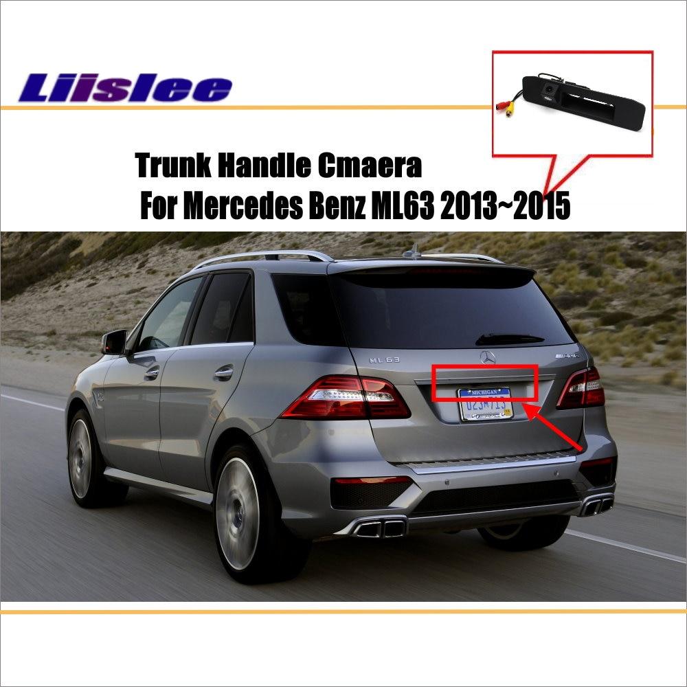 Câmera Do Carro Para Mercedes Benz ML63 Liislee BlueTEC/Rear View Camera/HD CCD PAL RCA NTST/Tronco lidar com OEM
