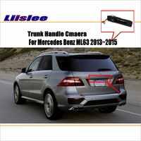 Caméra de voiture Liislee pour Mercedes Benz ML63 BlueTEC/caméra de recul/HD CCD RCA NTST PAL/poignée de coffre OEM