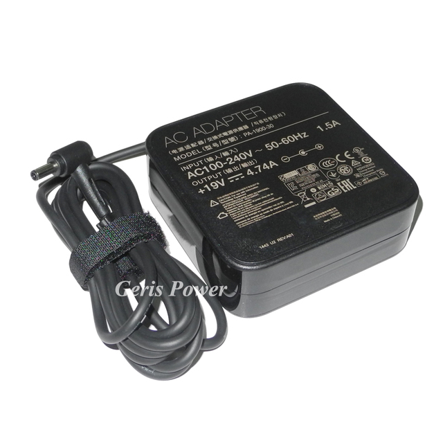 90W Laptop Ac Power Adapter Charger 19V 4.74A for Asus Zenbook UX51VZ-XB71 UX51VZ-CN035H EXA1202YH ADP-90YD B
