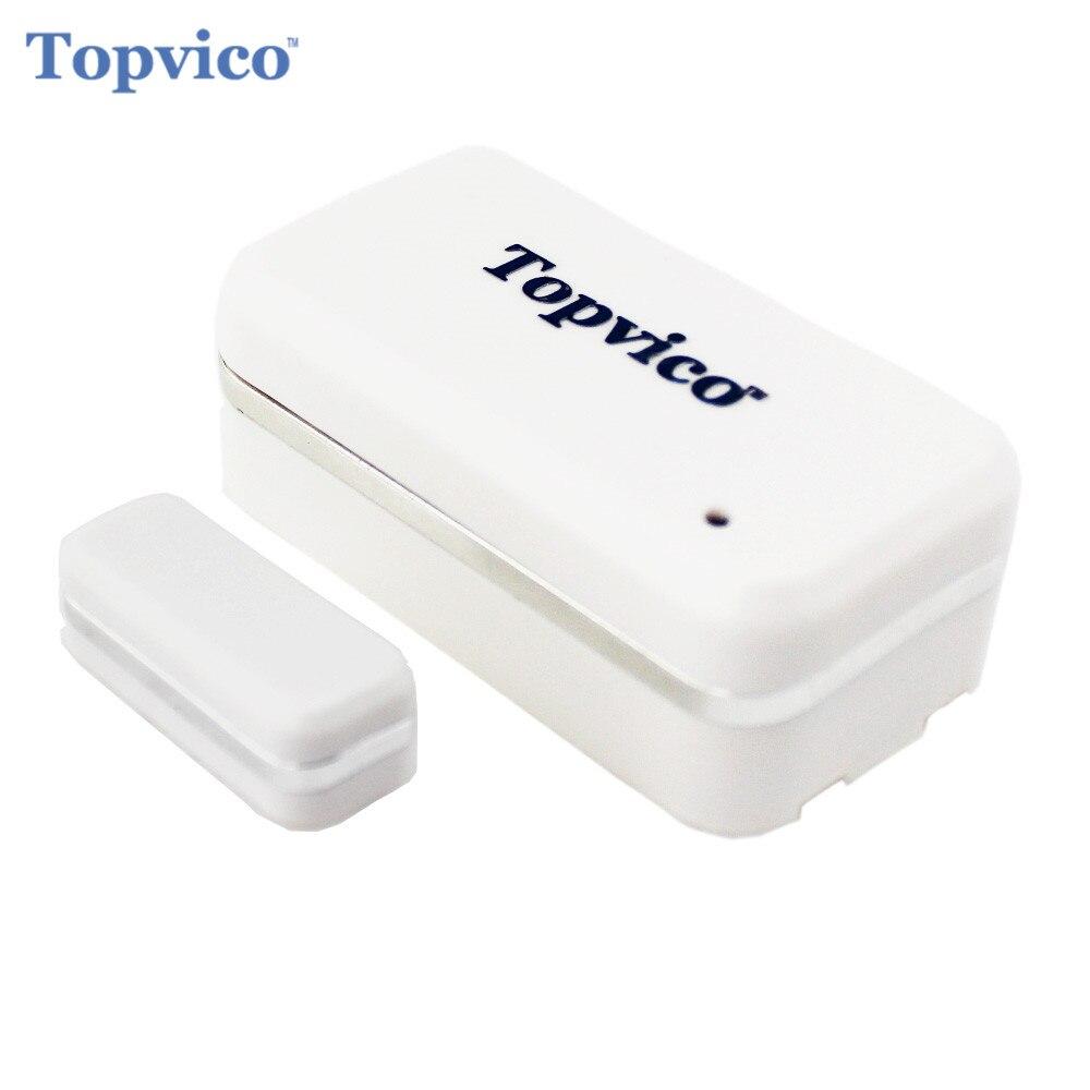 bilder für Topvico Z-welle Tür-fenster-sensor Alarm Detector Zwave Z welle Tür Sensor Drahtlose Haus Sicherheit Smart Home Alarm System Sicherheit