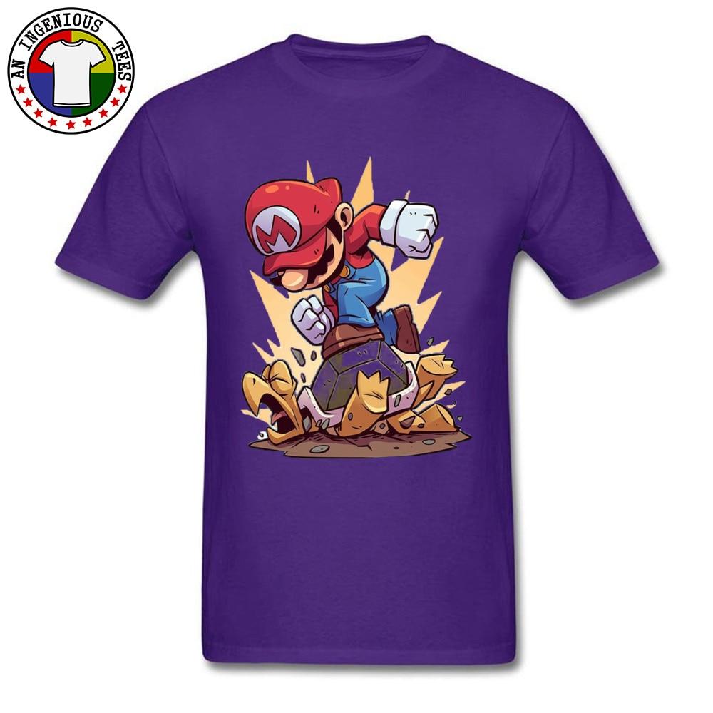 DesignCustomized Short Sleeve Tops Shirts Summer Discount O Neck All Cotton T Shirt Men's T-Shirt Sonnenschirme 4504  Sonnenschirme 4504 purple