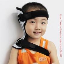 Фотография 2016 Adjustable style aluminium alloy super soft cushion children medical nursing neck tilt correction correct head neck support