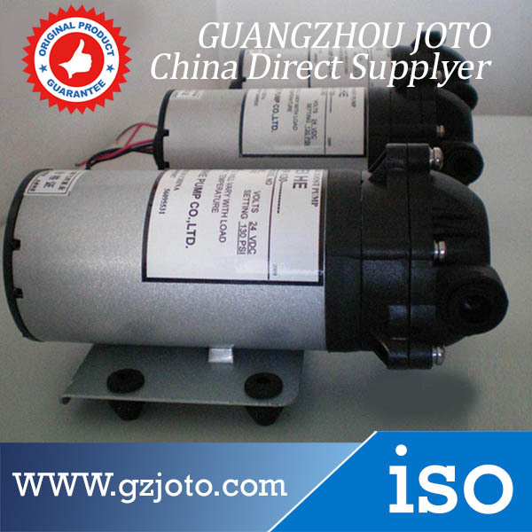 ФОТО DP-125 24V DC Power Mini Self-Suction Corrosion Resistance Diaphragm Booster Water Pump
