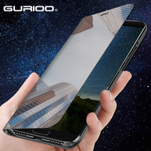 Luxury Smart Mirror Clear View Case For Samsung Galaxy J3 J5 J7 2016 2017 J4 J6 Plus Prime 2018 J2 Core Leather Flip Stand Cover(China)