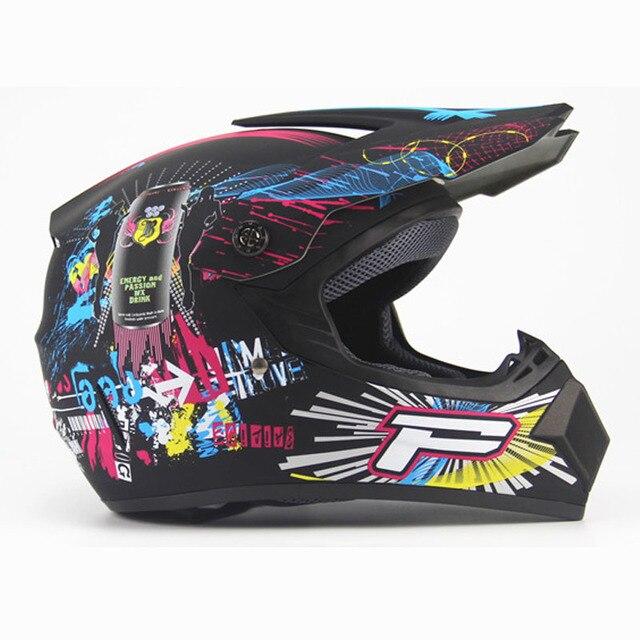 Adult Motorcycle Motocross Off Road Helmet Downhill Mtb Dh Racing