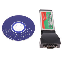 1Pcs Expresscard 34 millimetri Porta Express Card Seriale RS232 Serial Port Adapter Card per Notebook(China)