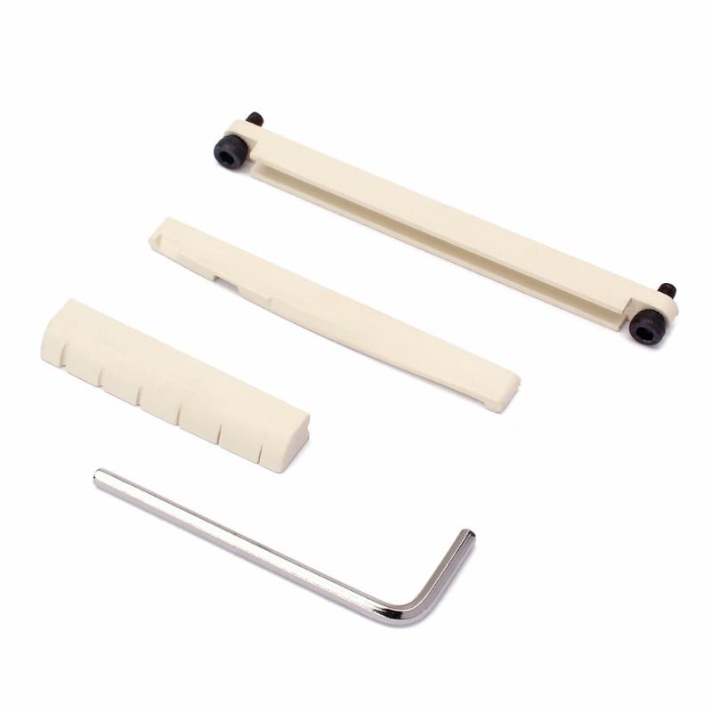 1 Set Universal Bridge Wrench Nut Saddle Part For Acoustic Classical Folk Guitar