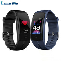 Smart Bracelet QS100 Fitness Tracker Color Screen Smart Wristband Heart Rate Monitor Blood Pressure Measure PK mi band 3