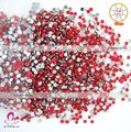 Siam 1.5mm faceted round Acrylic Nail Art Stones for nails 12packs nail art rhinestones(21 colors available)-Free Shipping