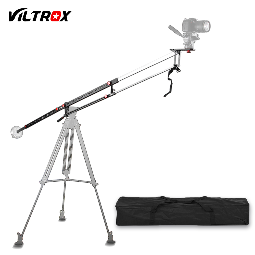 Viltrox YB-3M 3m Professional Extendable Aluminum Alloy Strong Camera Video Crane Jib Arm P+Bag for Canon Nikon Sony DSLR professional dv camera crane jib 3m 6m 19 ft square for video camera filming with 2 axis motorized head