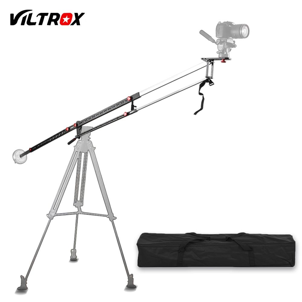 Viltrox yb-3m 3 m professionnel extensible en aluminium alliage forte caméra vidéo bras de grue bras p + sac pour canon nikon sony dslr