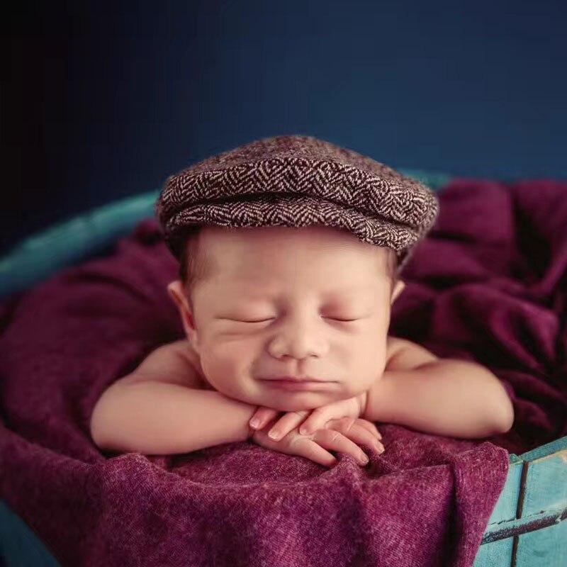 Crochet Baby Boy Gentleman Cap Bow Tie Set Տրիկոտաժե - Հագուստ նորածինների համար - Լուսանկար 2