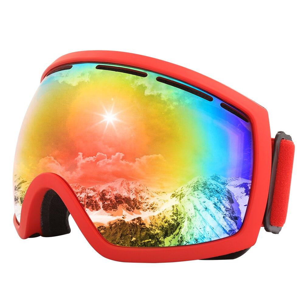 Jiepolly Ski Goggles Skiing font b Snowboard b font font b Sunglasses b font Pro Anti