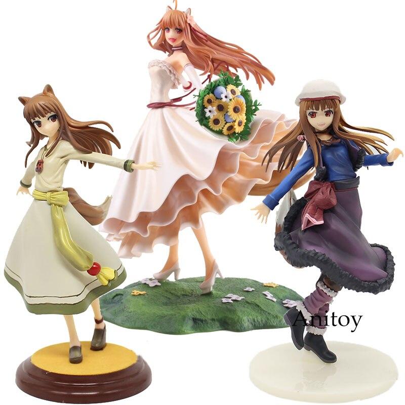 Figure Anime épices et loup Figure Holo robe de mariée Ver. Holo renouveau 1/8 échelle PVC figurine à collectionner jouet