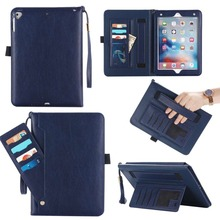 Hand Hold Storage bag Shell For Apple iPad 2 3 4 A1458 A1459 A1460 Smart PU Leather Cover Tablet Case Funda+Stylus Pen+Film.