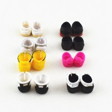 Cartoon cute Barber doll The skating shoes Accessories   clothes Girl toy Barber lol doll shoes Girls A birthday present