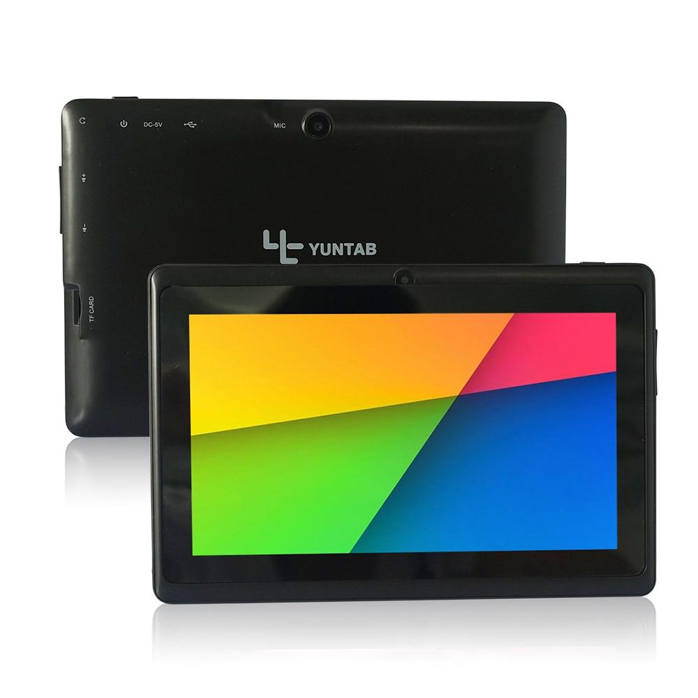 6 Colors 4GB Q88 7 inch Tablet PC Allwinner A23 Dual-core 512MB/4GB 800 x 480 Dual Camera WIFI 2500mAh tablet