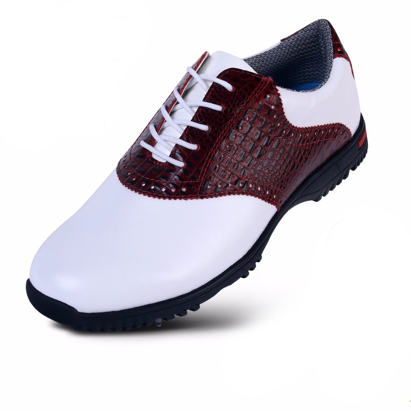 2016 New PGM outdoor sports activities nail successful men leather shoes waterproof slip-end comfort and lightweight golf shoes microfiber leather breathable waterproof patent men sport shoes activities nail anti skid good grip resistant golf shoes