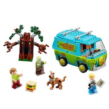 Bela Scooby Doo Machine Bus Building Block DIY Blocs Jouets 10430 Compatible Avec P029 danniversaire Cadeaux pour Enfan скуби ду лего
