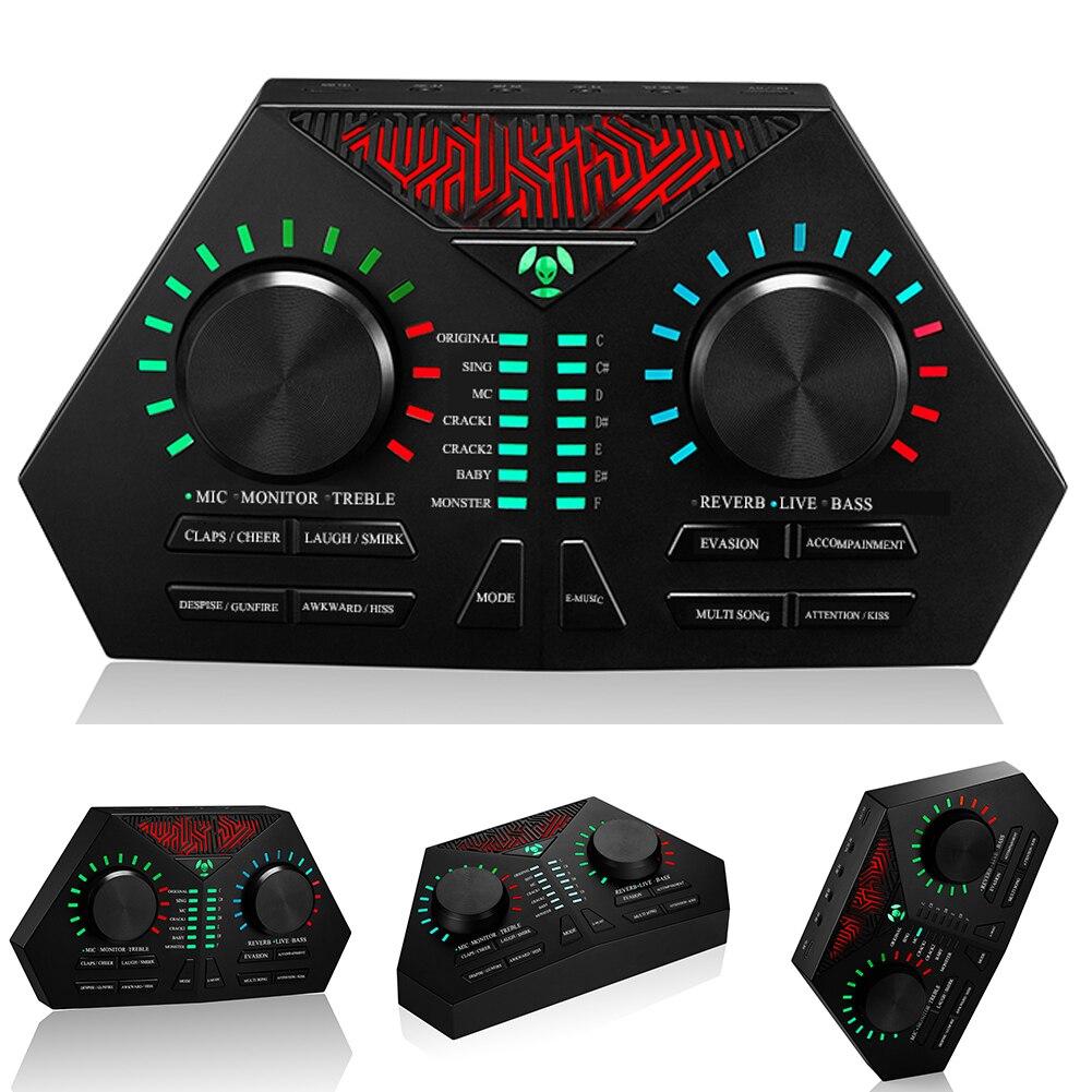 Max730 Microphone externe carte son Audio diffusion en direct téléphone portable USB câble chant casque ordinateur