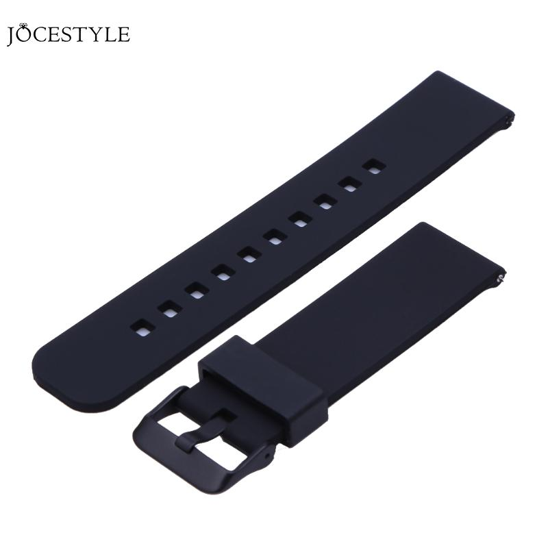 Soft Silicone Watch Band Replacement Strap for Samsung R380 / R381 / R382 for Pebble Time for Cookoo2 Watch Watchband high quality colorful 21mm silicone watch bands strap bracelet fitness replacement for pebble time time steel 8color