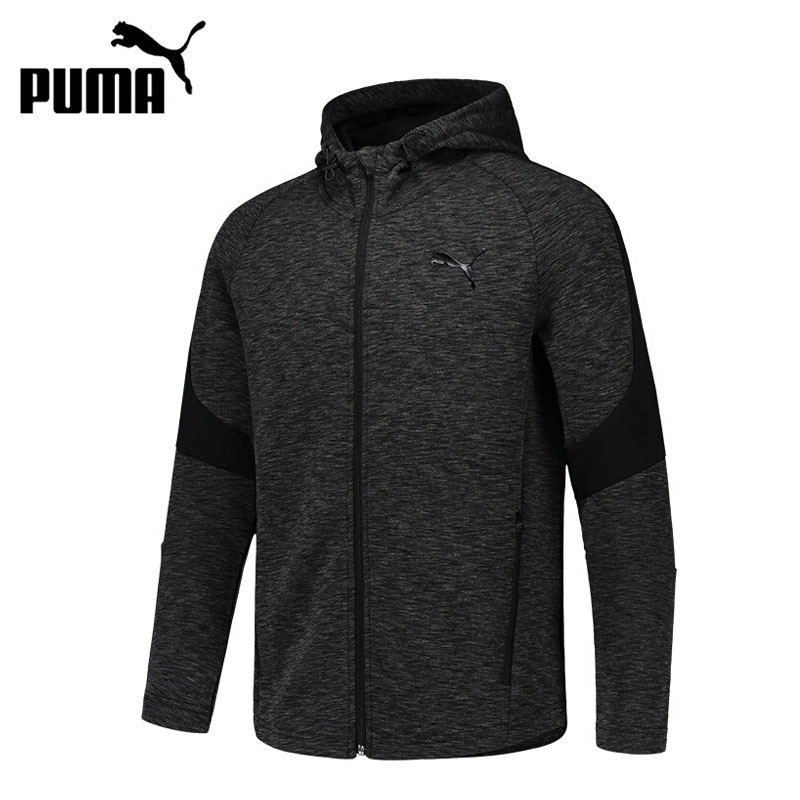 Original New Arrival 2018 PUMA Evostripe FZ Hoody Men's jacket Hooded Sportswear original new arrival 2017 puma evostripe ultimate fz hoody men s jacket hooded sportswear