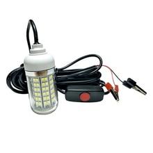 underwater fishing light for pools 220v waterproof 12v led powered marine lights strip switch fish quarium projector plug boat