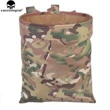 EMERSONGEAR Drop pouch Taktische Kleinigkeiten Folding Dump Pouch Airsoft Military Magazin Tasche Tasche Multicam Schwarz Beutel EM6032