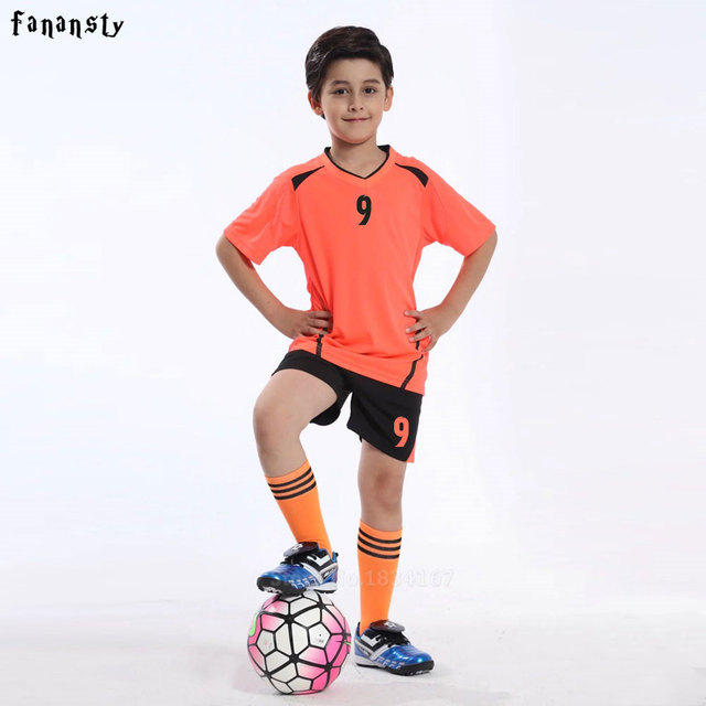 c3045b8240a1e Fútbol Jerséis niños Fútbol entrenamiento Trajes deportes Sets fútbol Niños  encargo Jerséis niño uniformes juventud Sets