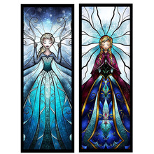 5D DIY Embroidered Crystal Butterfly Elf Girl Home Decoration 100% Full Diamond Embroidery Mosaic Picture