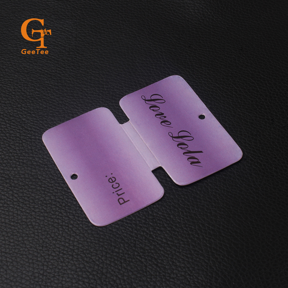Custom logo design custom shapedfree shipping labels set including clear pvc stickers jewelry necklace holder in garment tags from home garden on