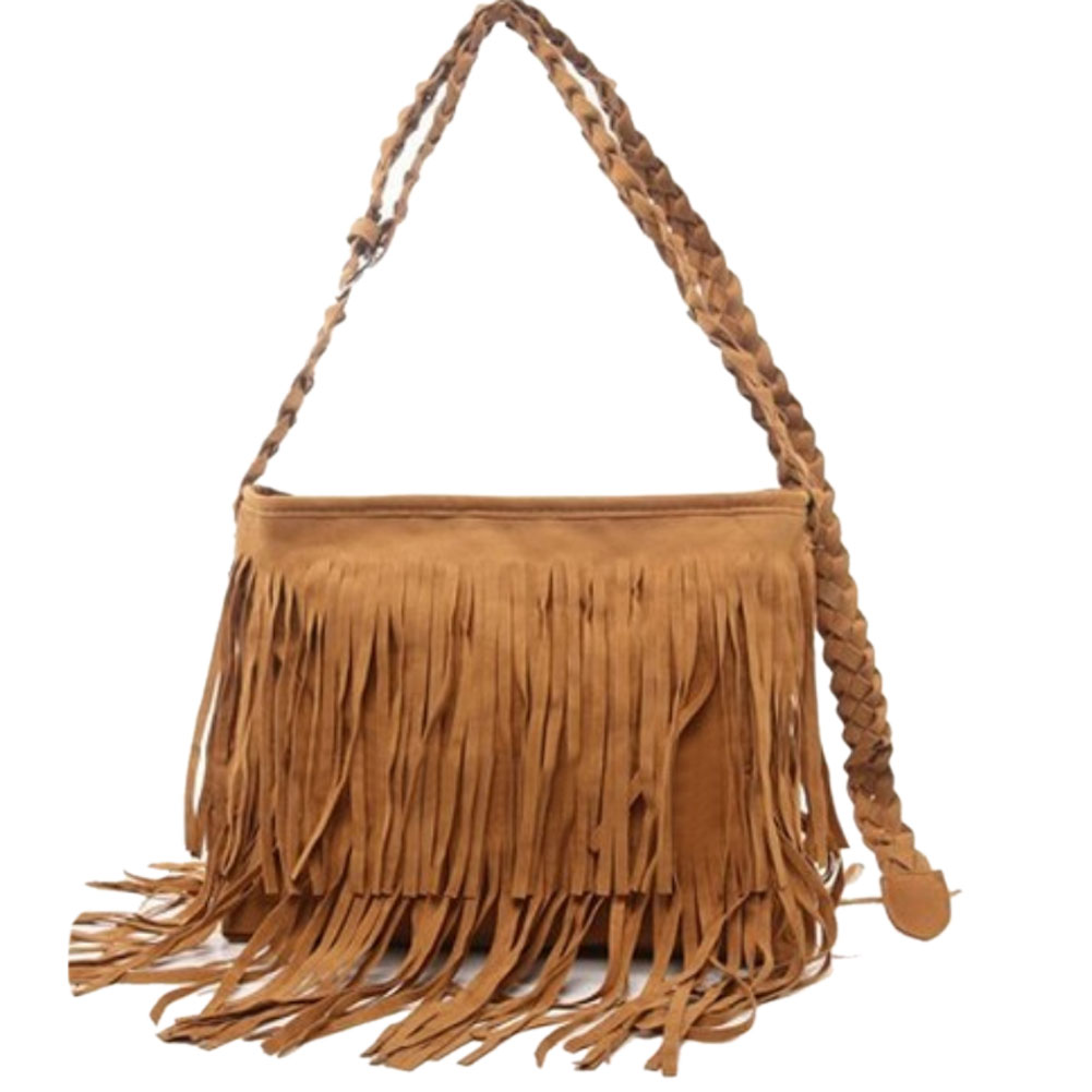 2017 Fashion Women S Suede Weave Tassel Shoulder Bag Messenger Fringe Handbags Lby2017 In Bags From Luggage On Aliexpress Alibaba