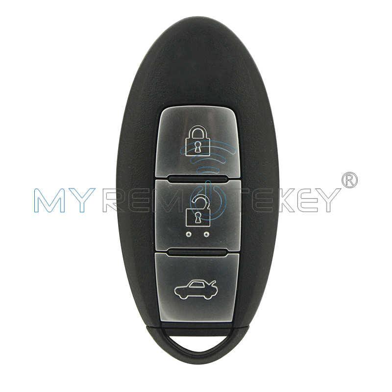 Smart Car Key Replacement >> Smart Car Key 3 Button 433 92 Mhz 4a Chip For Nissan Teana