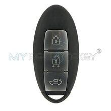 Смарт ключ для автомобиля 3 кнопки чип 43392 МГц 4a nissan teana
