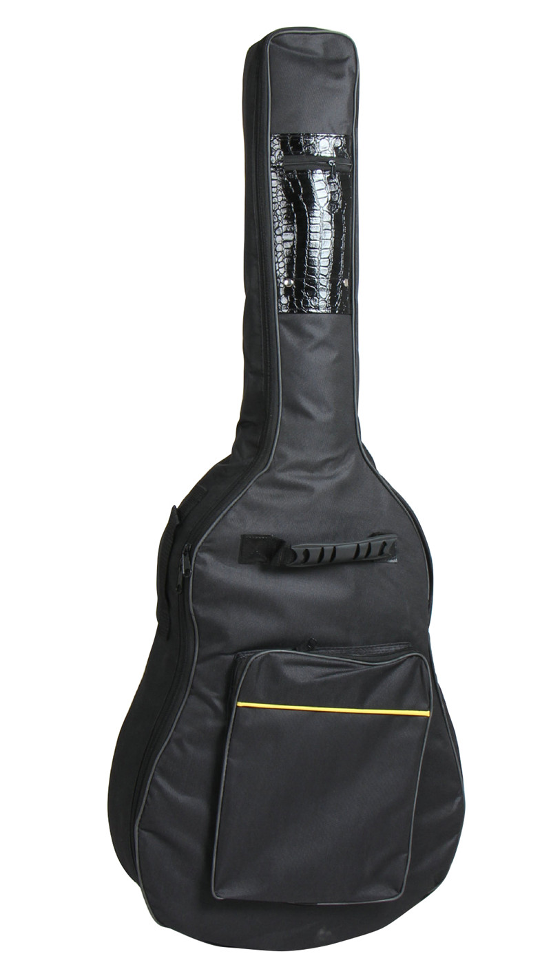 FULL SIZE PADDED Classical high-grade waterproof Acoustic Guitar bag Back Shoulder Protect Carry Case Bag folk guitar bags 41 inch classical acoustic guitar back carry cover case bag 5mm shoulder straps