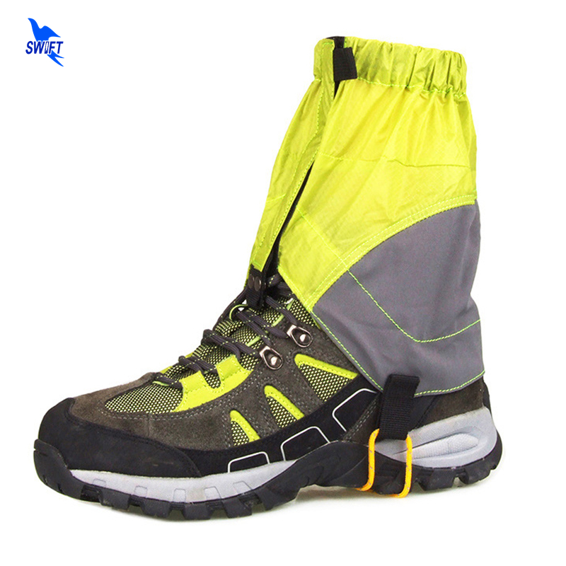 1 Pair Ultralight Camping Gaiters Waterproof Hiking Climbing Hunting Snow Legging Gaiters Leg Protection Windproof Ankle Guard