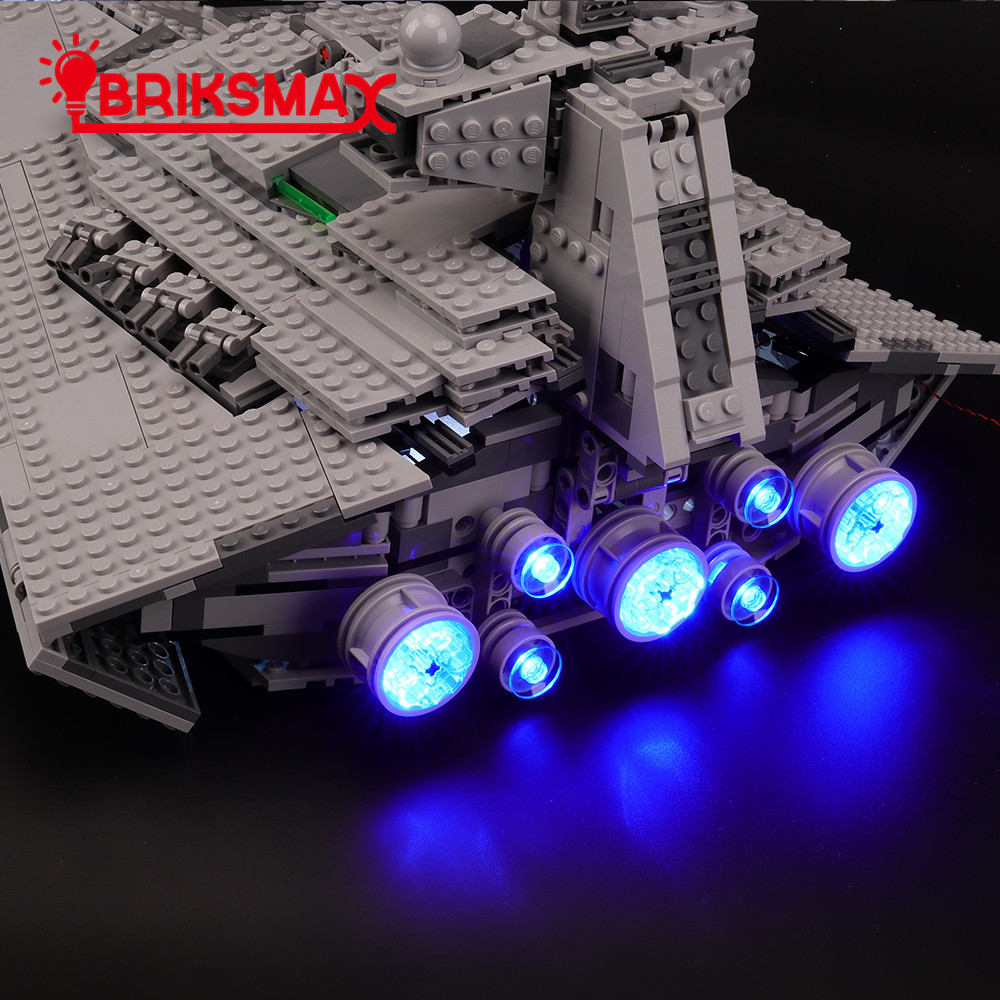 Not Include The Lego Set Compatible with Lego 75055 Building Blocks Model BRIKSMAX Led Lighting Kit for Star Wars Imperial Star Destroyer