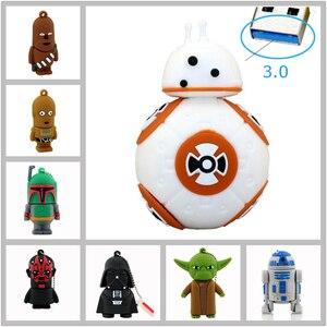 High Speed Star Wars pamięć usb usb 3.0 pen drive fiszki pendrive 16G 32GB Cartoon BB8 Darth Vader pendrive U disk