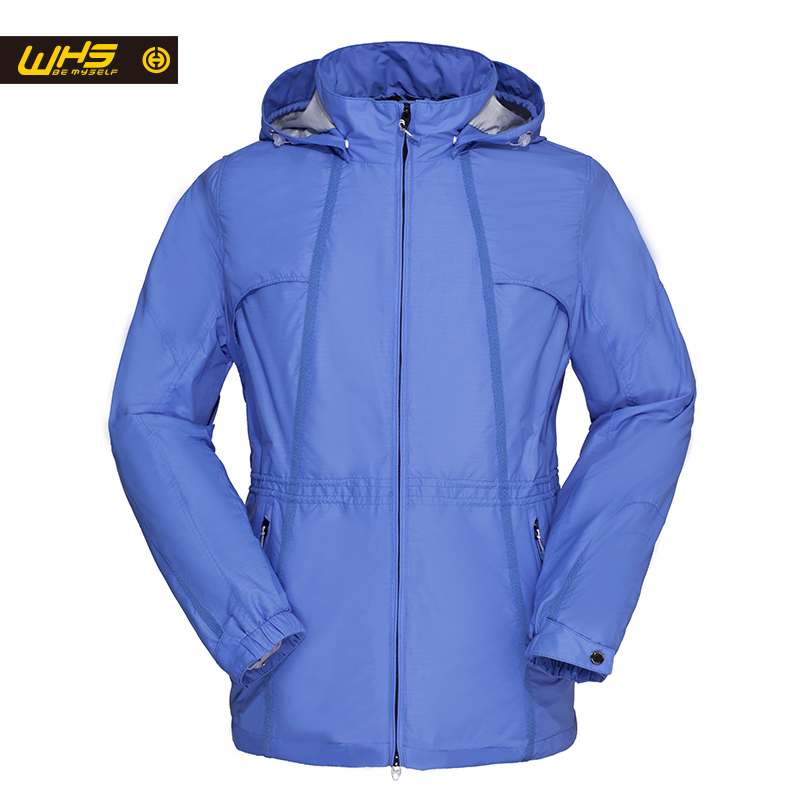 ФОТО WHS Outdoor sport Women Jacket autumn breathable Coat windbreaker Ladies SportWear Female large Jackets XXL-5XL