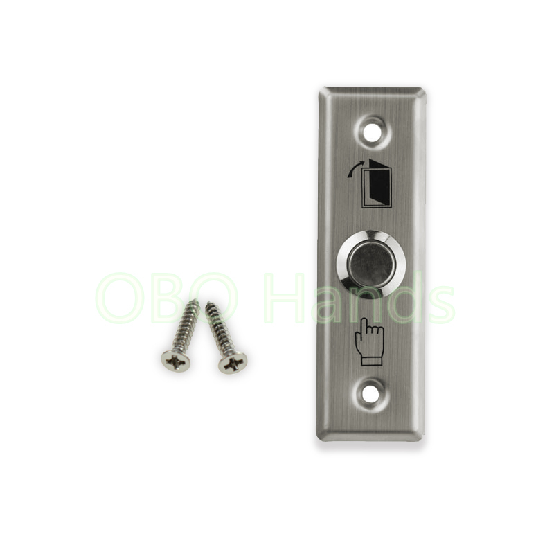 Free shipping Stainless Steel Door switch Exit Button emergency push button For electric Lock Access Control Home Security Alarm