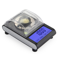 High Precision 50g 0.001g Laboratory Balance LCD Digital Milligram jewelry Diamond Gold Lab Scale Electronic Gram Counting 0.001