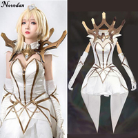 Elementalist Lux Cosplay Costume Lux Lol The Lady Of Luminosity Gaming Luxanna Cosplay Clothing Party Halloween Costume Women